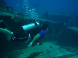 wreck diving around the world