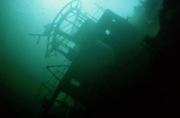 wreck diving in Kingston Ontario